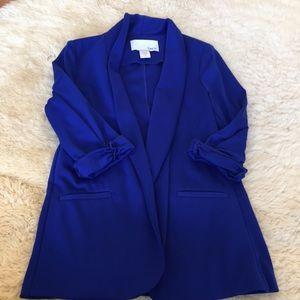 Bar III Royal Blue Blazer